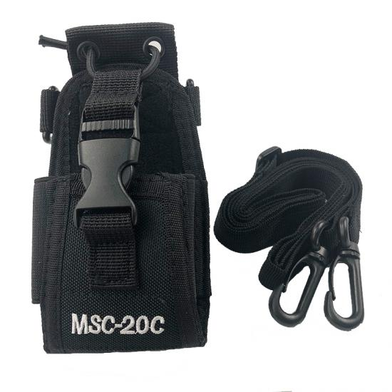 msc-20c nylon pouch case cover cover ل baofeng uv-5r bf-888s