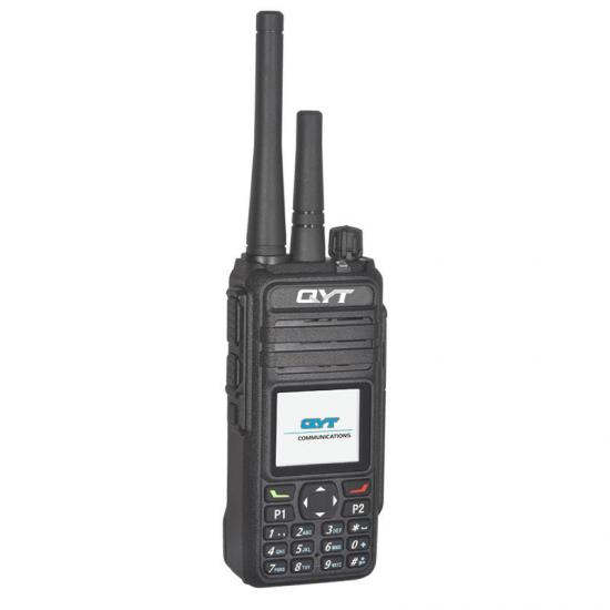 qyt qnh-800d منصة ptt حقيقية lte / 4g + dmr / analog walkie talkie